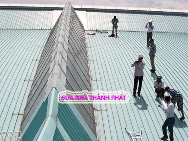 Thợ chống dột mái tôn quận Thủ Đức