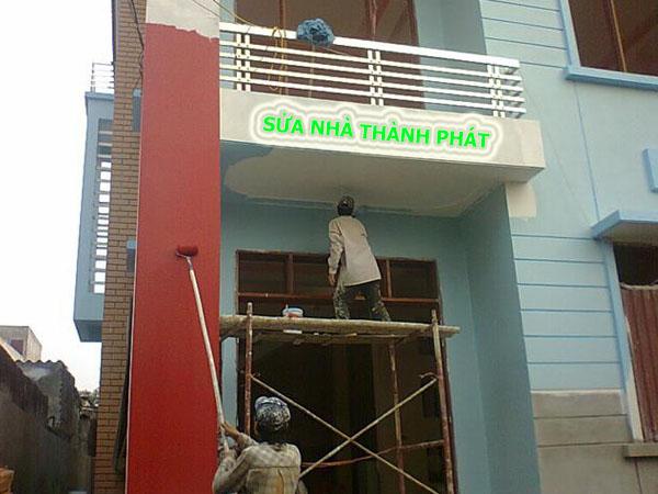 Thợ sơn nhà giá rẻ tại quận 2