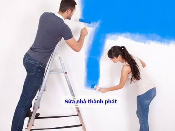 Thợ sơn nhà giá rẻ tại quận 1