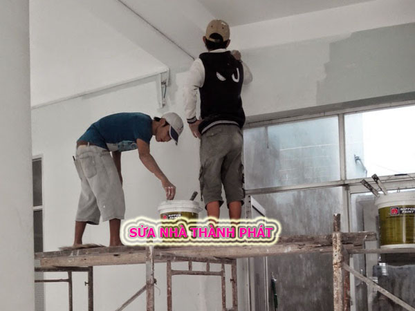 Thợ sơn nhà giá rẻ tại quận 3