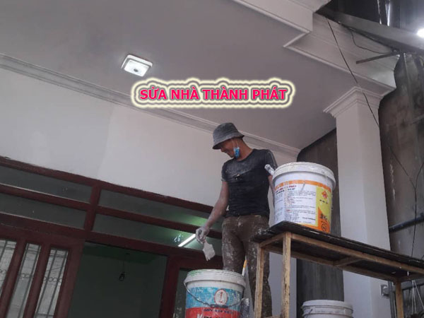 Thợ sơn nhà tại quận 8